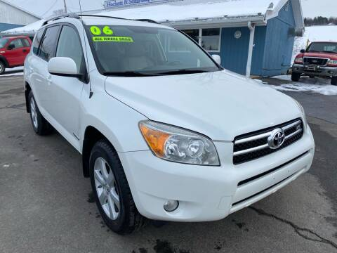 2006 Toyota RAV4 for sale at HACKETT & SONS LLC in Nelson PA
