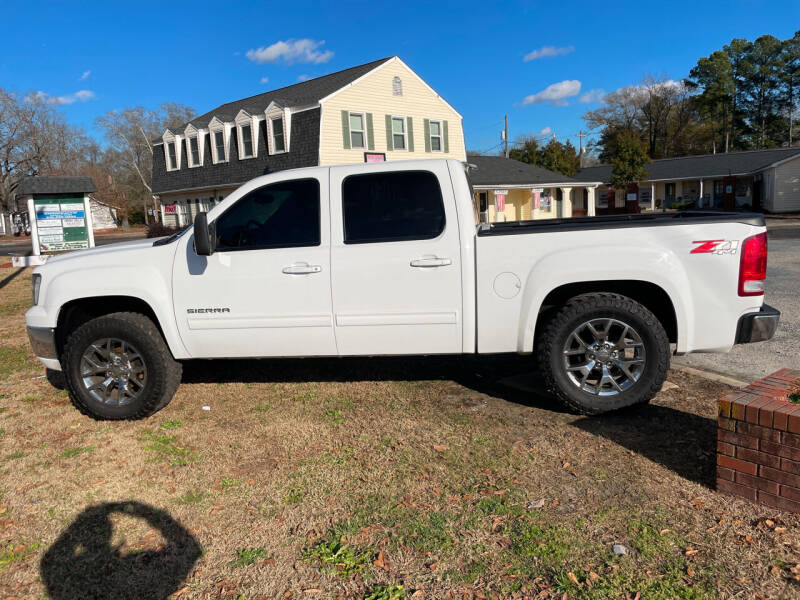 2012 GMC Sierra 1500 for sale at LAURINBURG AUTO SALES in Laurinburg NC