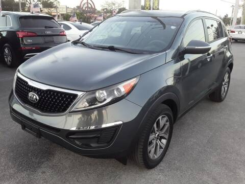 2015 Kia Sportage for sale at YOUR BEST DRIVE in Oakland Park FL