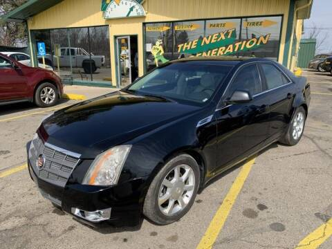 2008 Cadillac CTS for sale at RPM AUTO SALES in Lansing MI