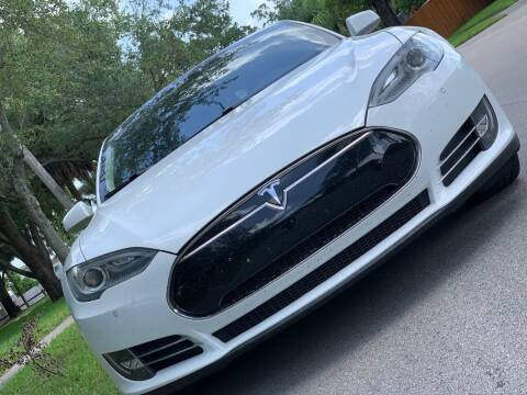 2013 Tesla Model S for sale at HIGH PERFORMANCE MOTORS in Hollywood FL
