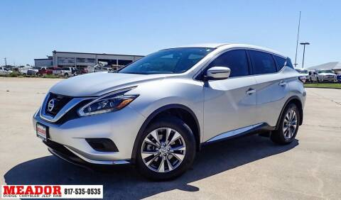 2018 Nissan Murano for sale at Meador Dodge Chrysler Jeep RAM in Fort Worth TX