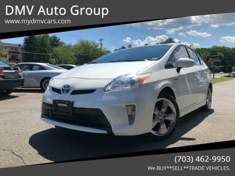 2013 Toyota Prius for sale at DMV Auto Group in Falls Church VA