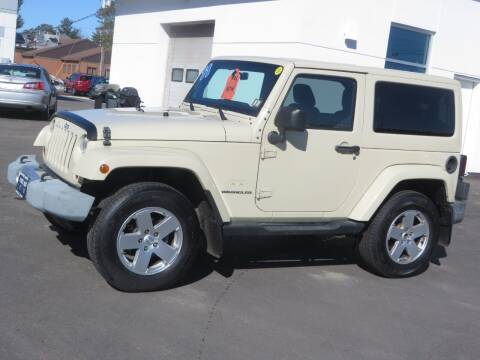 2011 Jeep Wrangler for sale at Price Auto Sales 2 in Concord NH