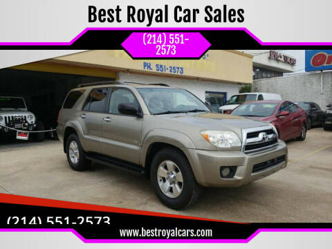 2007 Toyota 4Runner for sale at Best Royal Car Sales in Dallas TX