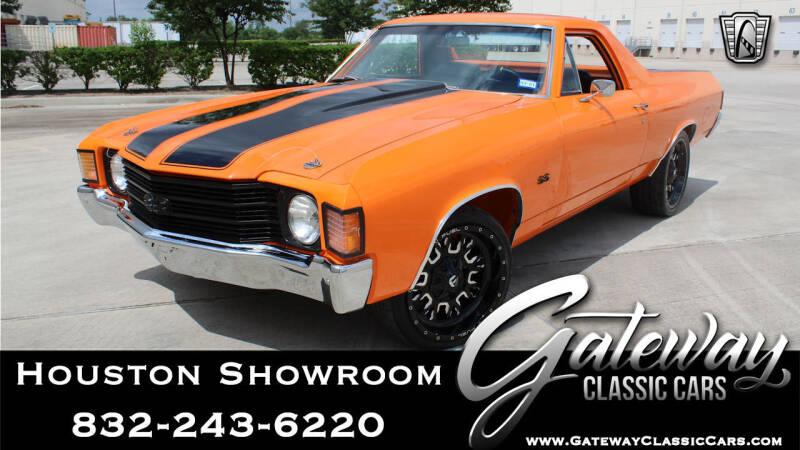 1972 Chevrolet El Camino for sale in Houston, TX