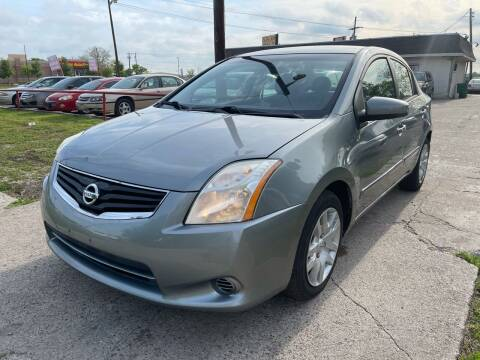 2012 Nissan Sentra for sale at Cash Car Outlet in Mckinney TX