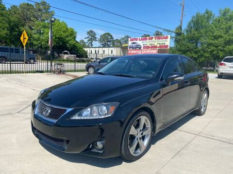 2012 Lexus IS 250 for sale at Auto Land Of Texas in Cypress TX