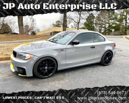 2010 BMW 1 Series for sale at JP Auto Enterprise LLC in Duluth GA