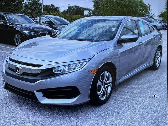 2016 Honda Civic for sale at Global Pre-Owned in Fayetteville GA
