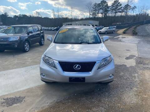 2011 Lexus RX 350 for sale at B & B AUTO SALES INC in Odenville AL