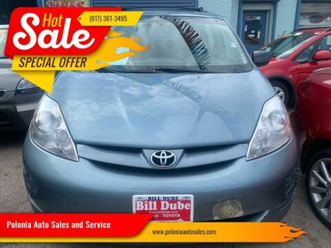 2008 Toyota Sienna for sale at Polonia Auto Sales and Service in Hyde Park MA