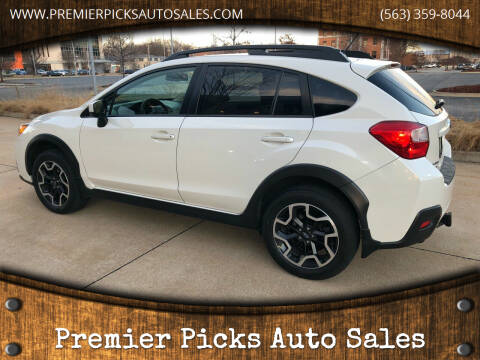2016 Subaru Crosstrek for sale at Premier Picks Auto Sales in Bettendorf IA