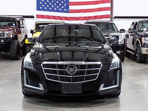 2014 Cadillac CTS for sale at Texas Motor Sport in Houston TX
