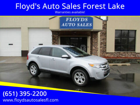 2013 Ford Edge for sale at Floyd's Auto Sales Forest Lake in Forest Lake MN