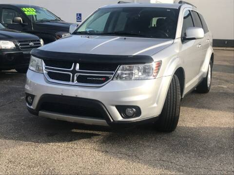 2013 Dodge Journey for sale at HIGHLINE AUTO LLC in Kenosha WI