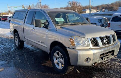 2006 Nissan Titan for sale at QS Auto Sales in Sioux Falls SD