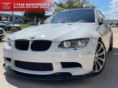 2008 BMW M3 for sale at European Motors Inc in Plano TX