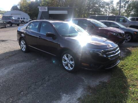 2012 Ford Fusion for sale at THATCHER AUTO SALES in Export PA