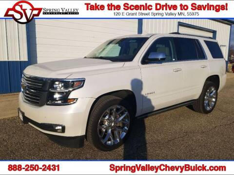 2017 Chevrolet Tahoe for sale at Spring Valley Chevrolet Buick in Spring Valley MN
