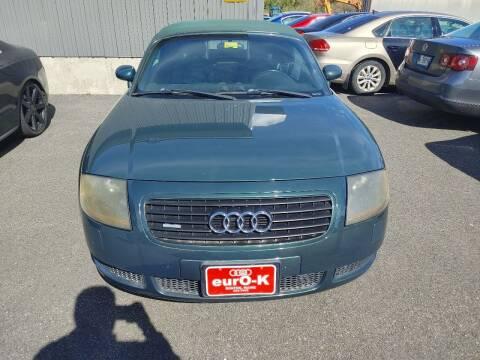 2001 Audi TT for sale at eurO-K in Benton ME