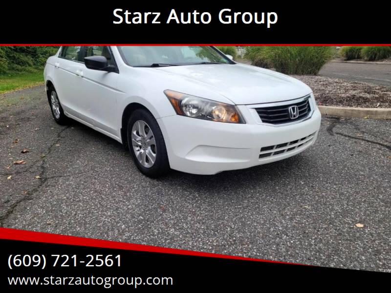 2008 Honda Accord for sale at Starz Auto Group in Delran NJ