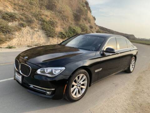 2015 BMW 7 Series for sale at TOP OFF MOTORS in Costa Mesa CA