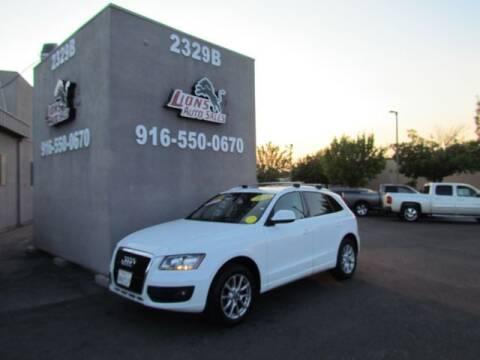 2010 Audi Q5 for sale at LIONS AUTO SALES in Sacramento CA
