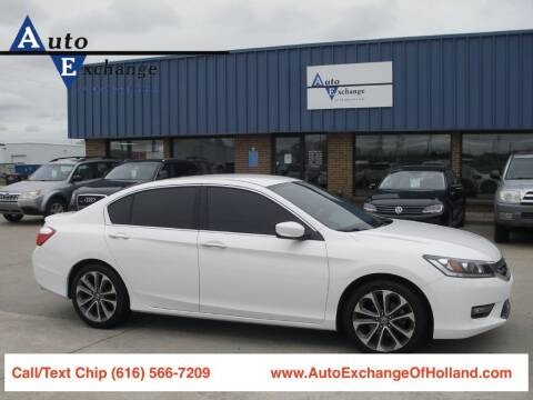 2014 Honda Accord for sale at Auto Exchange Of Holland in Holland MI