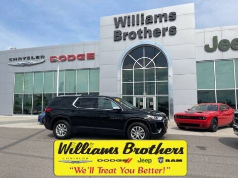 2018 Chevrolet Traverse for sale at Williams Brothers - Pre-Owned Monroe in Monroe MI