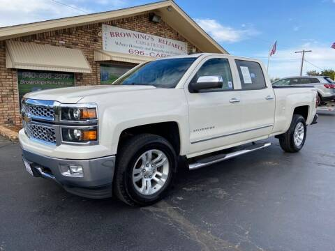 2014 Chevrolet Silverado 1500 for sale at Browning's Reliable Cars & Trucks in Wichita Falls TX