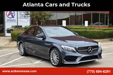 2016 Mercedes-Benz C-Class for sale at Atlanta Cars and Trucks in Kennesaw GA