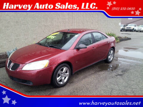2009 Pontiac G6 for sale at Harvey Auto Sales, LLC. in Flint MI