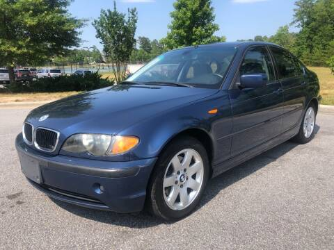 2005 BMW 3 Series for sale at CVC AUTO SALES in Durham NC