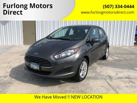 2019 Ford Fiesta for sale at Furlong Motors Direct in Faribault MN