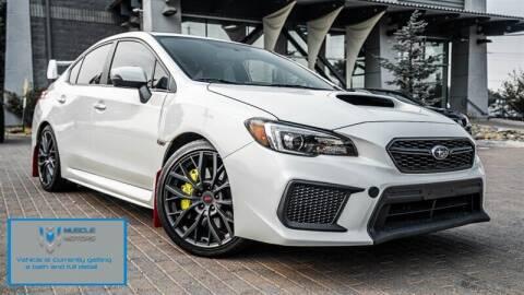 2019 Subaru WRX for sale at MUSCLE MOTORS AUTO SALES INC in Reno NV