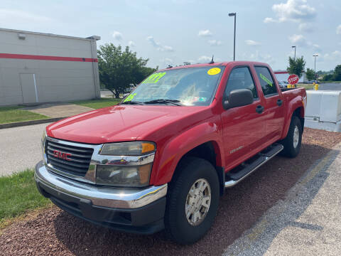 2005 GMC Canyon for sale at McNamara Auto Sales - Kenneth Road Lot in York PA