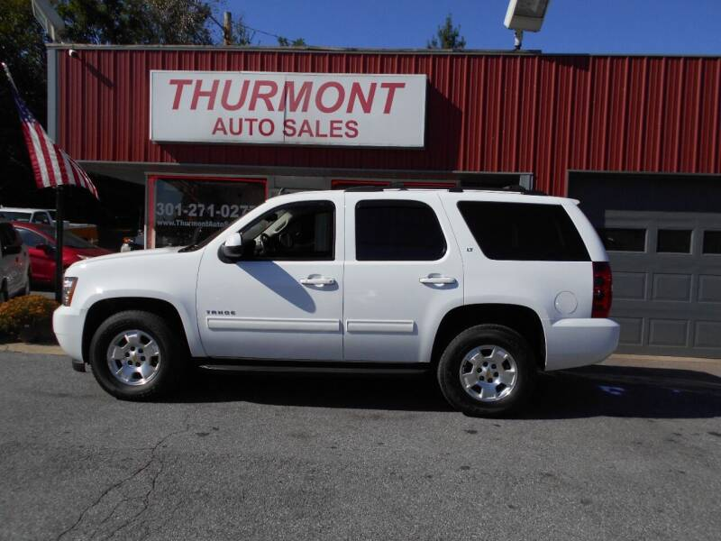 2012 Chevrolet Tahoe for sale at THURMONT AUTO SALES in Thurmont MD