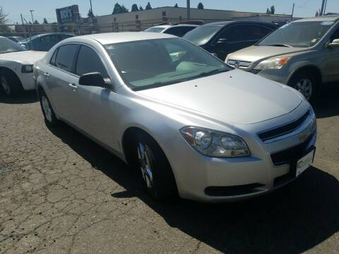 2012 Chevrolet Malibu for sale at Universal Auto INC in Salem OR