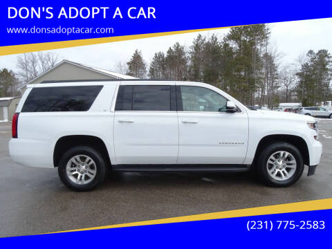 2019 Chevrolet Suburban for sale at DON'S ADOPT A CAR in Cadillac MI