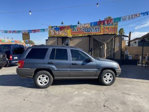 2001 Jeep Grand Cherokee for sale at DEL CORONADO MOTORS in Phoenix AZ