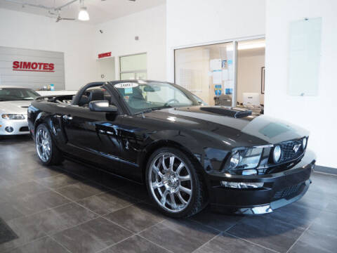 2007 Ford Mustang for sale at SIMOTES MOTORS in Minooka IL
