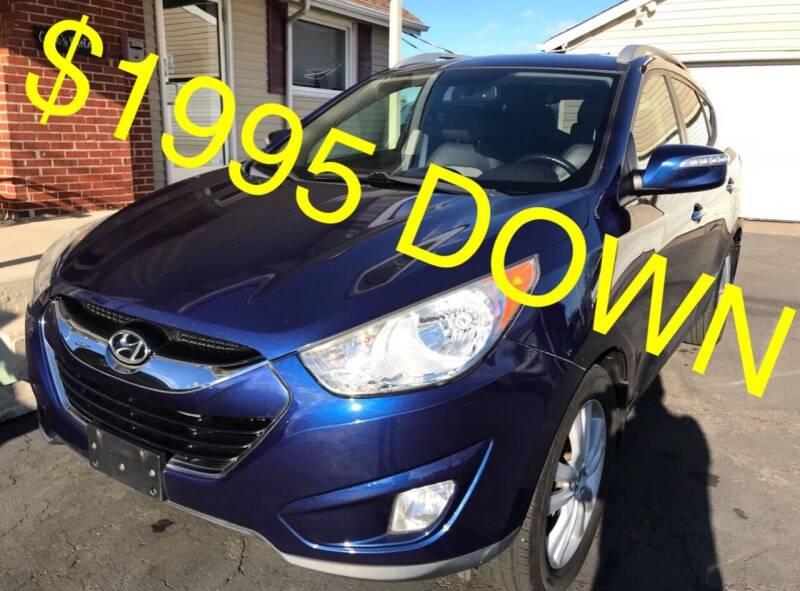 2011 Hyundai Tucson for sale at Cooks Motors in Westampton NJ