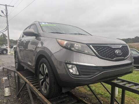 2012 Kia Sportage for sale at GREAT DEALS ON WHEELS in Michigan City IN