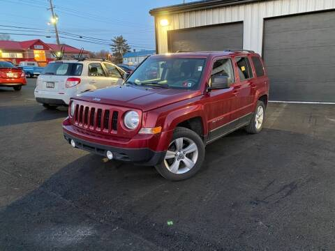 2016 Jeep Patriot for sale at Sisson Pre-Owned in Uniontown PA