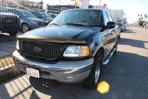 2003 Ford F-150 for sale at FJ Auto Sales in North Hollywood CA