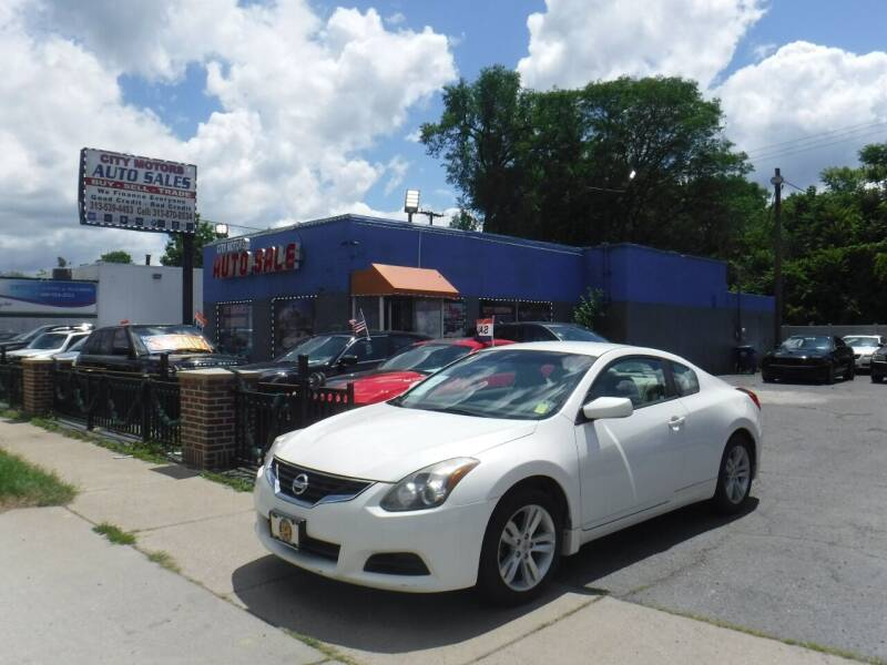 2012 Nissan Altima for sale at City Motors Auto Sale LLC in Redford MI