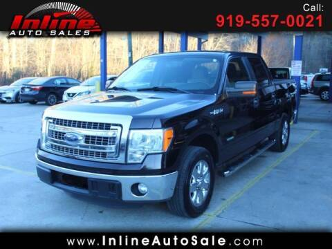 2013 Ford F-150 for sale at Inline Auto Sales in Fuquay Varina NC