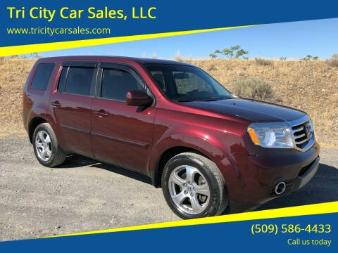 2013 Honda Pilot for sale at Tri City Car Sales, LLC in Kennewick WA
