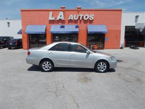 2006 Toyota Camry for sale at L A AUTOS in Omaha NE